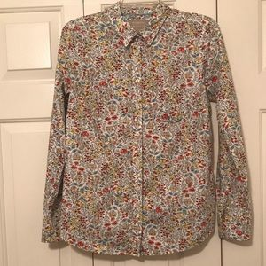 Banana Republic Floral shirt